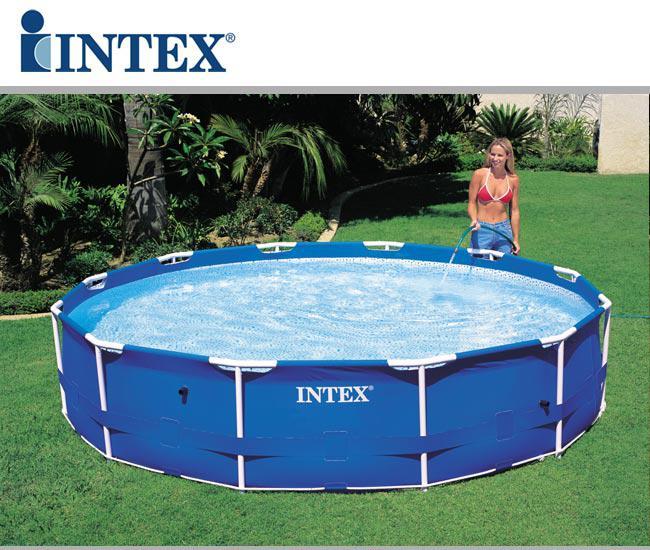 Piscina frame rotonda cm 305x76 tutto per la piscina a for Piscine fuori terra rotonde
