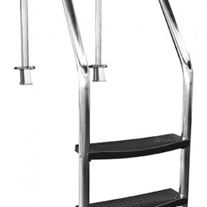 Scaletta Bordo Sfioratore Special inox 316, 3 gradini