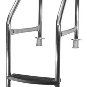 Scaletta Bordo Sfioratore Special inox 304, 2 gradini